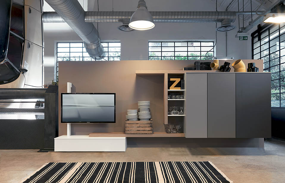 Soggiorno design contenitori my suites home for Mobili contenitori soggiorno